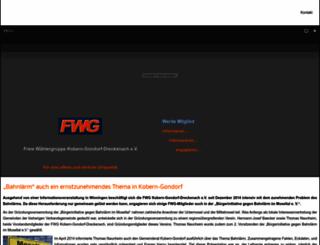 fwg-kobern-gondorf.de screenshot