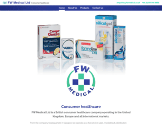 fwmedical.co.uk screenshot