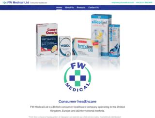 fwmedical.co.uk screenshot