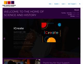 fwmuseum.org screenshot