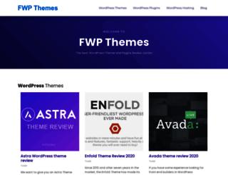 fwpthemes.com screenshot