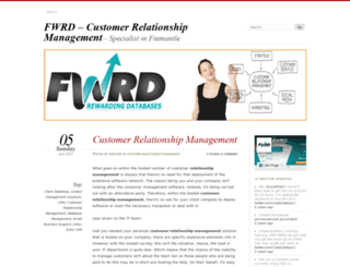 fwrdcrm.wordpress.com screenshot