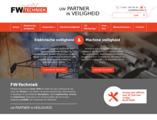 fwtechniek.nl screenshot