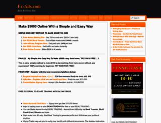 fx-ads.com screenshot
