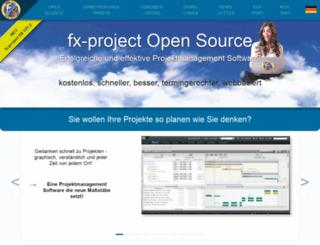 fx-project.de screenshot
