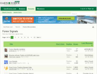 fx-signal.org screenshot