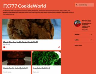 fx777-cookieworld.blogspot.com screenshot