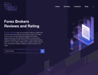 fxbrokers-reviewed.com screenshot