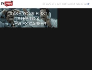 fxcareers.com screenshot