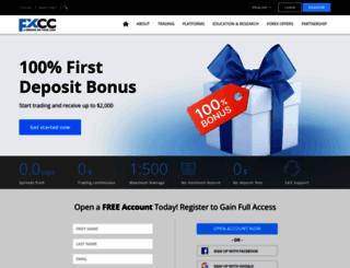 fxcc.com screenshot