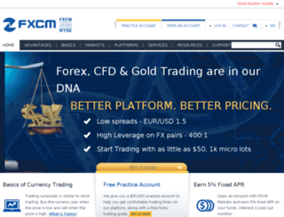 fxcmthai.com screenshot