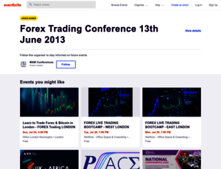 fxconference130613.eventbrite.co.uk screenshot