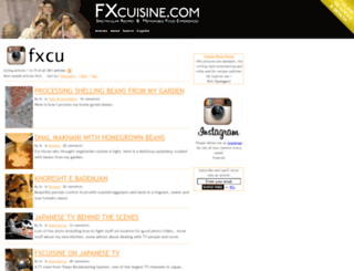 fxcuisine.com screenshot