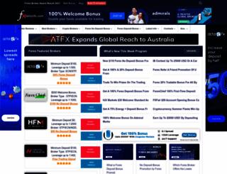 fxdailyinfo.com screenshot