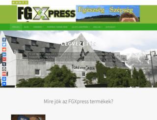 fxghungary.hu screenshot