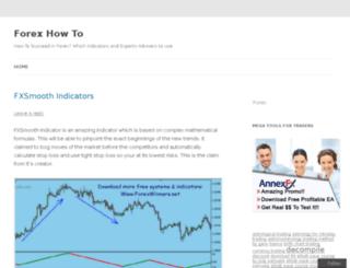 fxhowto.wordpress.com screenshot