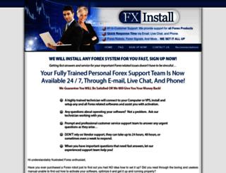 fxinstall.com screenshot
