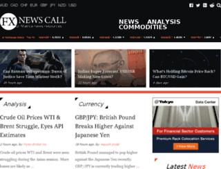 fxnewscall.com screenshot