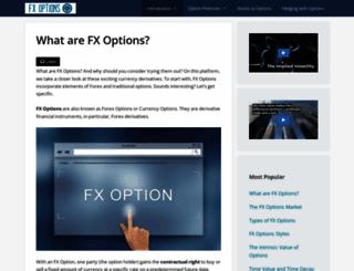 fxoptions.com screenshot