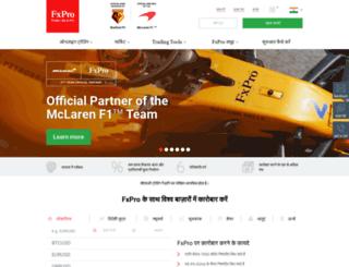 fxpro-india.com screenshot
