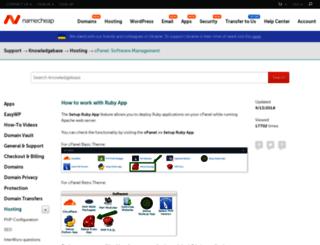 fxruby.org screenshot