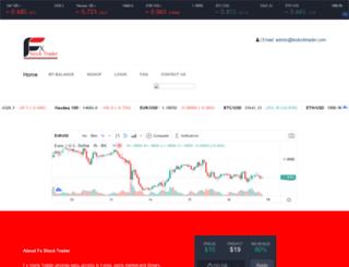 fxstocktrader.com screenshot