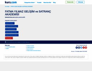 fyakademi.kurs.com screenshot