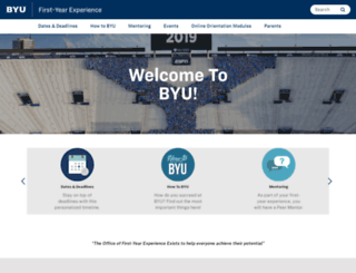 fye.byu.edu screenshot