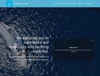 fyly-yacht-charters.com screenshot