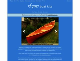 fyneboatkits.com screenshot