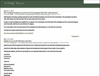 fyoq.com screenshot