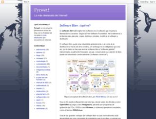 fyrwet.blogspot.com screenshot