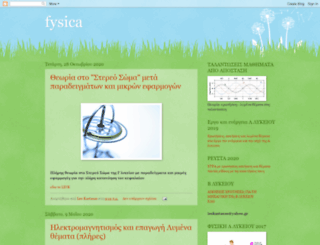 fysicakasta.blogspot.com screenshot