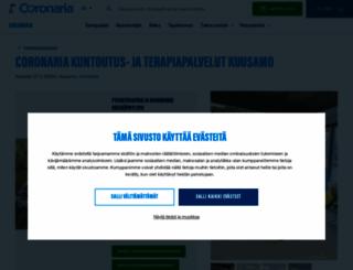 fysiokuusamo.fi screenshot