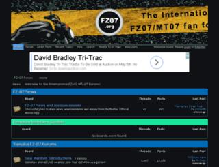 fz-07.forums.net screenshot