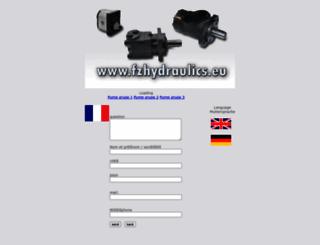 fzhydraulics.eu screenshot