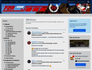 fzr-forum.de screenshot