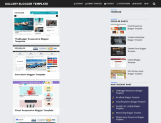 g-bloggertemplate.blogspot.com screenshot