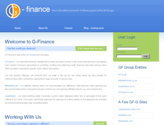 g-finance.co.uk screenshot