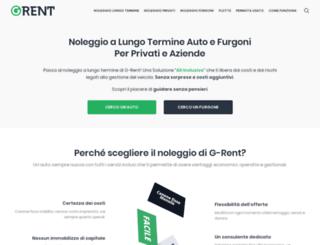 g-rent.it screenshot