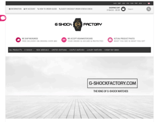 g-shockfactory.com screenshot