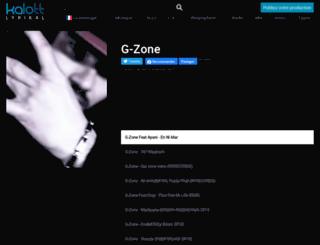 g-zone.kalottlyrikal.net screenshot