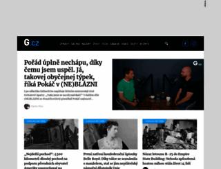 g.cz screenshot
