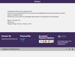 g1efantasysports.com screenshot