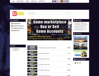 g2keys.com screenshot