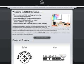 g4ginteractive.com screenshot