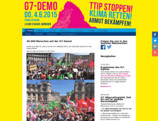 g7-demo.de screenshot