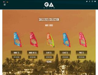 ga-windsurfing.com screenshot