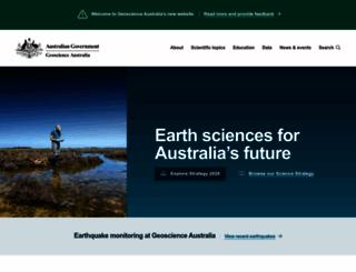 ga.gov.au screenshot