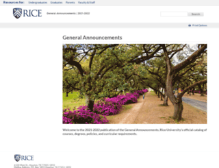 ga.rice.edu screenshot